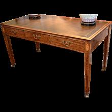Hepplewhite Table Desk