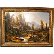 Oil Painting Attributed to James Webb,(1825-1895)