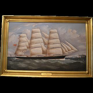 Clipper Ship Oil, 19th Century