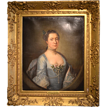 Oil Portrait of Madame L' Strange