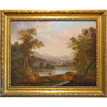 English landscape with figures