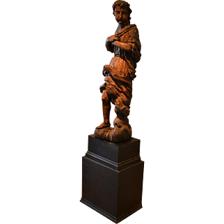 15th -17th century Saint or Angel