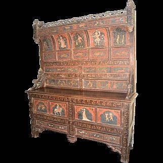 Renaissance cupboard