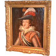 Portrait of a 17th Century European Noblewoman