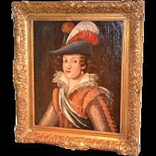 Portrait of a 17th Century European Noblewoman