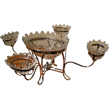 Sheffield Plated Epergne, Early 19th Century
