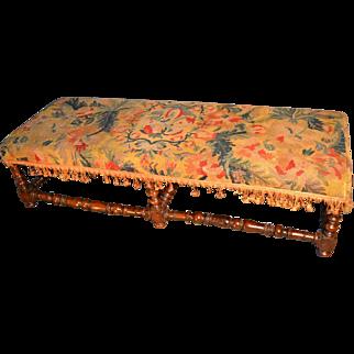Baroque 17th Century Bench
