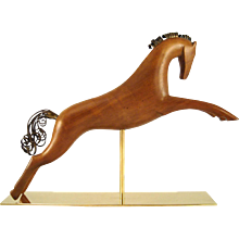 Leaping Wooden Horse by Hagenauer