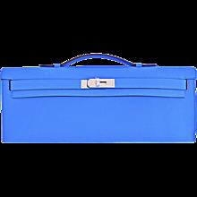 hermes handbags prices - hermes blue azteque aztec agneau carmen key ring bag charm
