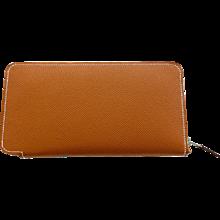 Hermes Cognac Gold Brown Rose Jaipur Astrologie Nouvelle Silk-In Wallet Gift!