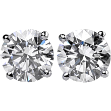Diamond Studs Earrings 4.19 Cts.