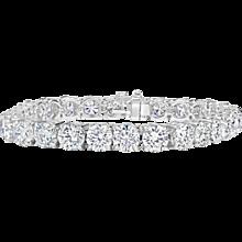 Diamond Tennis Bracelet 28.80 Cts.