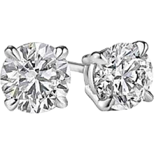 1.99 Diamond Stud Earrings