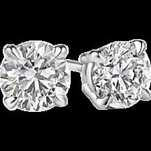 1.99 Diamond Stud Earrings
