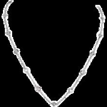 2.29 Carats Diamond Gold Diamond by The Yard Necklace