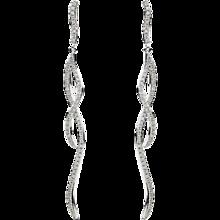Diamond Drop Long Earring