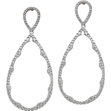 Diamond Drop Dangle Earrings
