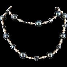 Rose Gold Multi-Styled Opera Necklace