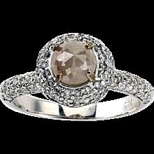 Rosè Rough Light Pink Diamond Ring
