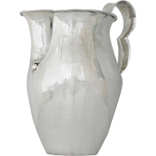 William Spratling Sterling Silver Hand-Wrought Pitcher
