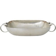 William Spratling Hand-Wrought Sterling Silver Entree Dish 1940
