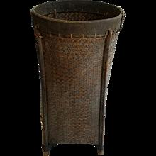 Woven Rattan Basket