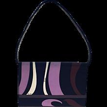 Mod Silk Pucci Shoulder Bag