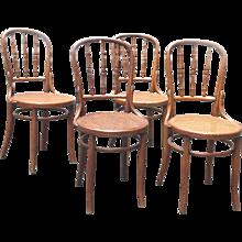 Set of 4 Chairs 19th Century Viennese by J&J Kohn Company