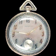 Tiffany 18 Kt Gold Pocket Watch C. H. Meylan