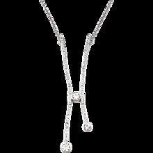 1.23 ctw Custom Made Modern Diamond Necklace 18k White Gold