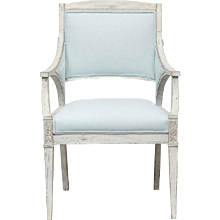 Gustavian Armchair, Early 19th Century