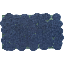 Dual Colour Rectangular Rugs