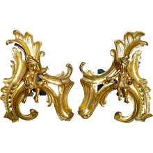 A Pair of Regence/Louis XV Chenets