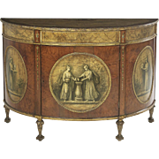 Antique Demi-Lune Commode
