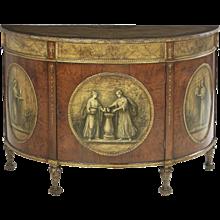 Antique Demi-Lune Commode