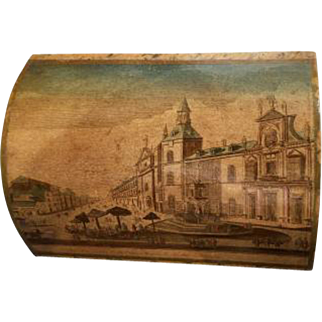 French 19th Century Box of Madrid Royal Prison
