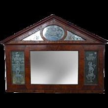 Venetian Neoclassic Architectural Mirror