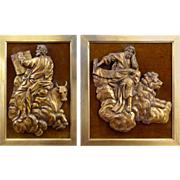 Pair of 18th Century Italian Carvings