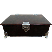 Dutch Colonial 18th Century Tortoiseshell Box