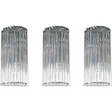 Italian Venetian Wall sconces in Murano Glass, Venini 1960s