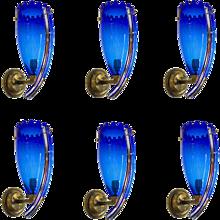 Italian Murano glass Sconces Attributed to Camera Glass