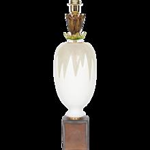 Italian Murano Glass Table Lamp Cactus, around 2000s