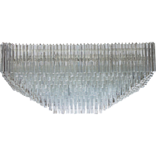 Italian Venice Chandelier Attributed to Venini, Circa 1960s