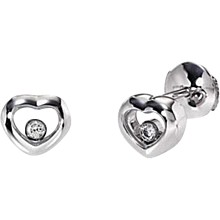 Chopard Happy Diamond Heart Earrings