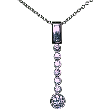 Tiffany Diamond Drop Necklace