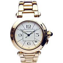 Cartier Pasha Automatic Yellow Gold