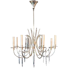 Mid-Century Chandelier in the Manner of Charles Hollis Jones