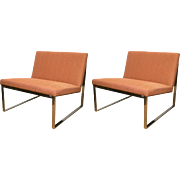 Pair of B2 Chairs by Fabien Baron for Bernhardt