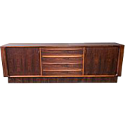 Danish Modern Rosewood Credenza by Dyrlund for Maurice Villency