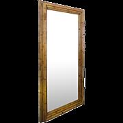 Large Dimensional Bamboo Frame Full Length Mirror